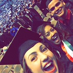 Happy graduation day! Who did you sit next to at Commencement? Tag them in the comments. #MarqU16