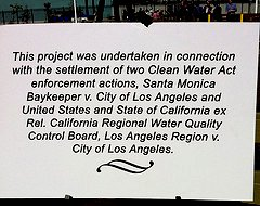 sign at the new park (by: The City Project)