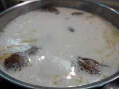 Osobuco en la leche de coco