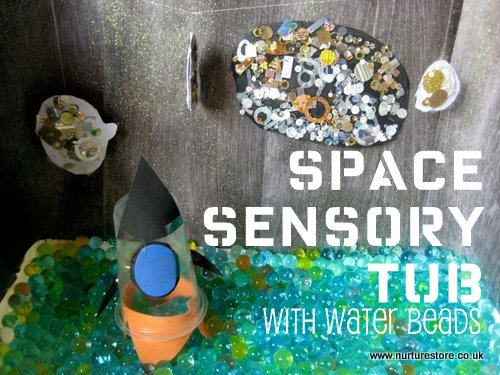 space play sensory tub