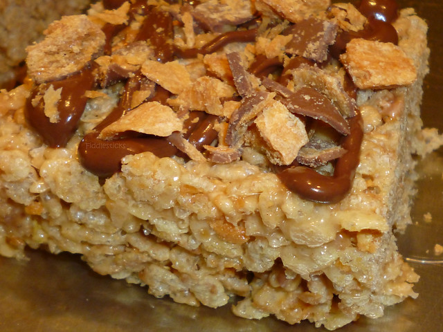 Butterfinger Rice Krispies Treats!!! | Flickr - Photo Sharing!