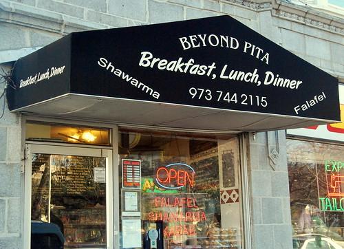 Beyond Pita - outside