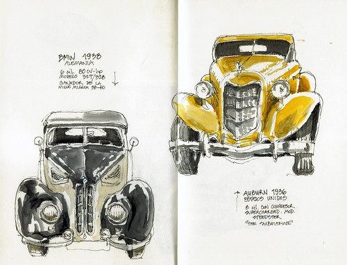 BMW 1938 & Auburn 1936