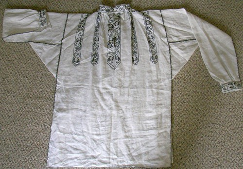 Wrinkly Finished Shirt, on MorganDonner.com