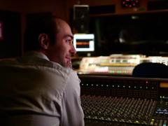 Sound engineer Mathias Taylor