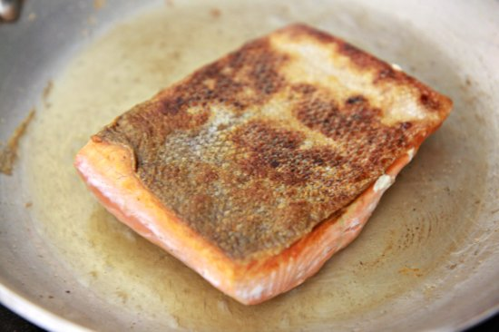 Crispy Skin Honey Soy Salmon