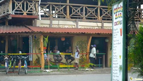 Locals Main Road of Cahuita costa rica