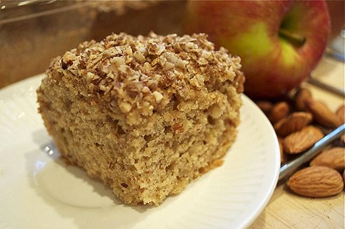 apple almond cake feature