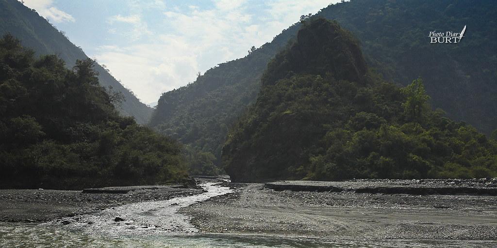 溫泉溪與濁口溪交匯口