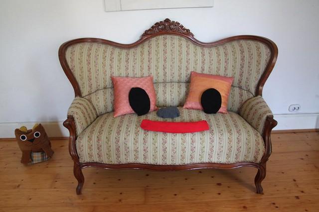 smiling sofa