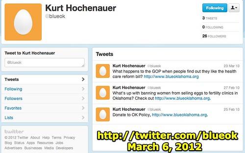 Kurt Hochenauer (blueok) on Twitter