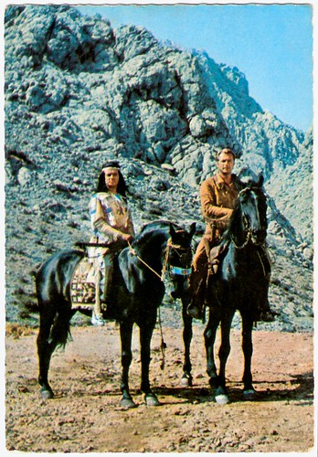 Lex Barker, Pierre Brice, Der Schatz im Silbersee