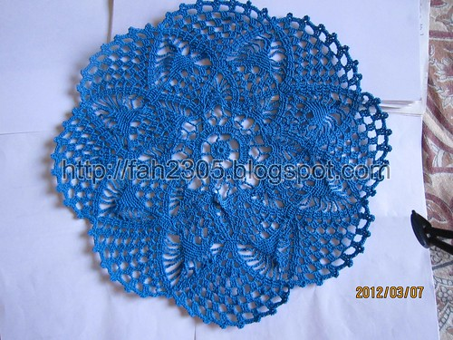 Crochet Doily by fah2305