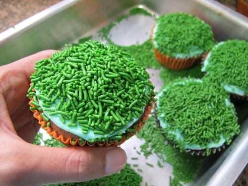 Cupcakes de Páscoa: Cenourinhas