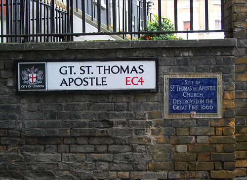 Great St Thomas Apostle