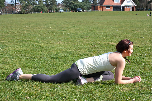 how to get rid of lower back pain with hip flexor stretches