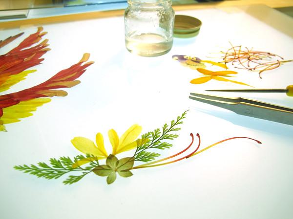 押し花アート作品集 『flora』 の書籍化プロジェクト_18