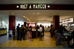 Pret A Manger, Landside at London City Airport (1)