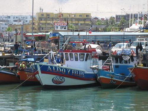 Iquique boats