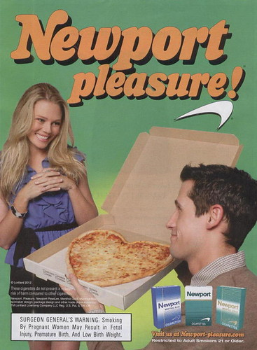 This is a weird ad for cigarettes, right?