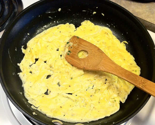 Shake and Scramble Eggs