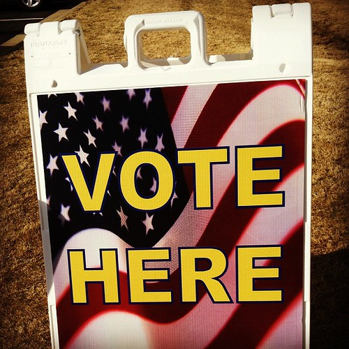 Election Day! #sign #marchphotoaday