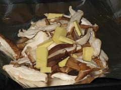 Shitake na Manteiga ao Forno