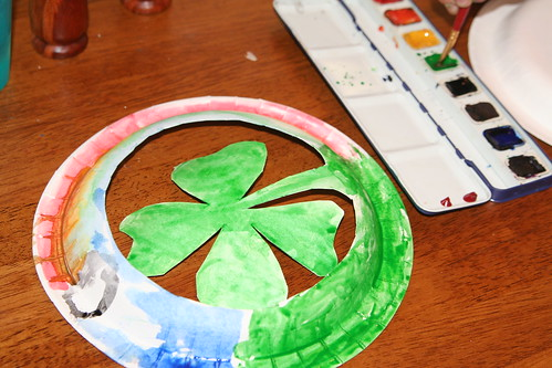 St. Patrick's Day Paper Ornaments