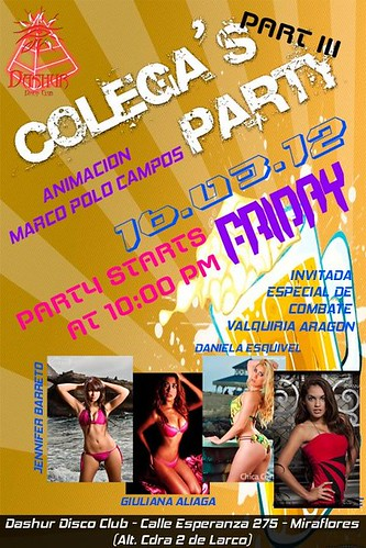 Vie.16.Mar ✿✿ Colega's Party III ✿✿ Dashur Disco Club