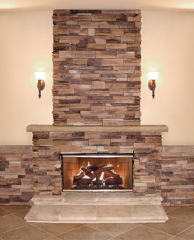 Quick stack carmel mountain stone products flickr photo sharing for Interior fireplace stone veneer