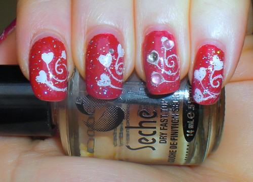 VDay Manicure part 3, all finished! by KitaRei