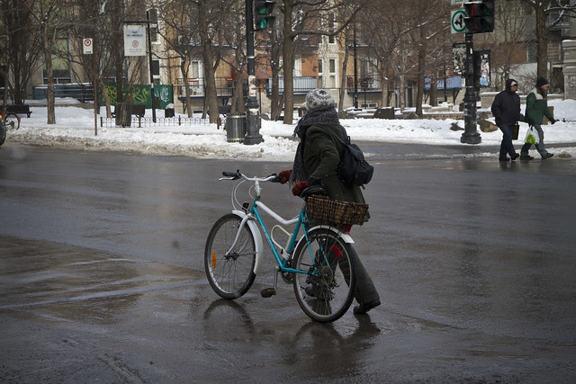 Montreal Winter Cycle Chic