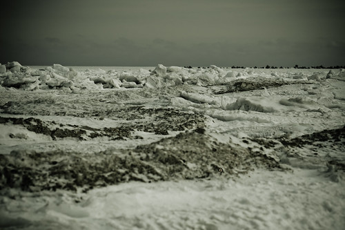Frozen Black Sea