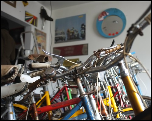 Upstairs - bike's