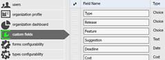 OneDesk Custom-Fields Configuration