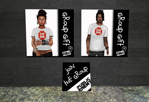 [:x:] Public Enemy [:x:] Public Enemy Group Gift Male/Female by Cherokeeh Asteria