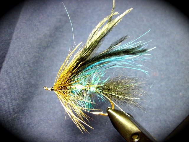 cold blue hammer steelhead fly