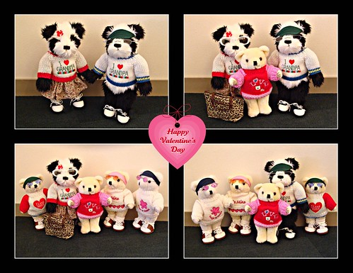 The Teddy Bears in Japan wish you a Happy Valentine's Day!