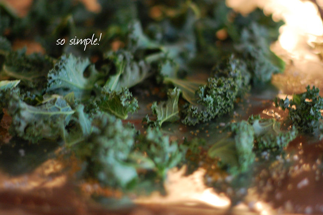 kale chips {one}