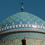 Mosque Dome - Yazd, Iran