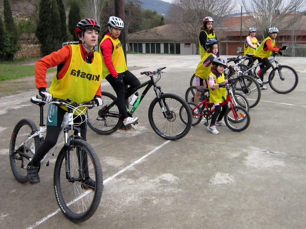 Escola de Ciclisme 11-02-2012.