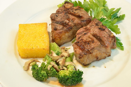 Lemon Rosemary Lamb Chops