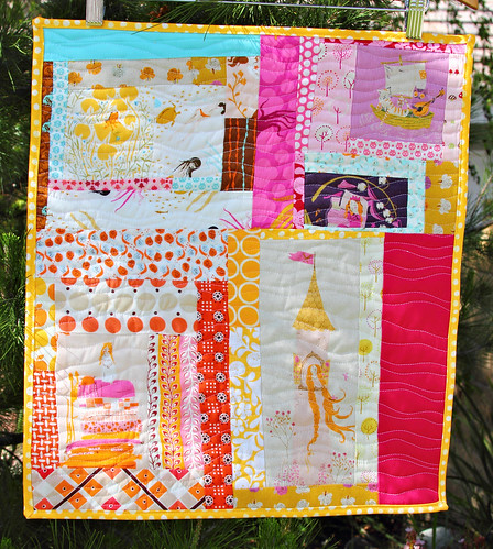 Fairyland mini quilt