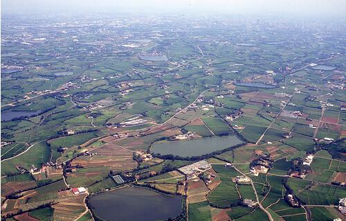 19世紀初,桃園臺地的大小埤塘達上萬個,號稱「千塘之鄉」。柯金源攝影