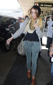 Miley Cyrus Cargo Jeans