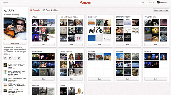 Pinterest - 2012's big hit?