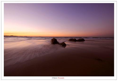 ocean longexposure sunset sea sun beach water beauty rock set sunrise gold coast twilight nikon rocks long exposure australia shore rocking moment rise seashore coolangatta goldcoast d90 at nikond90 ausse