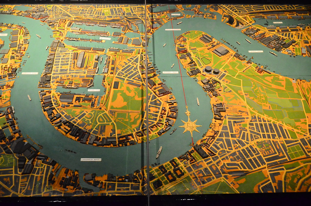Topographic Map London.The Isle Of Dogs On The World War 2 Topographic Map Of Lon Flickr