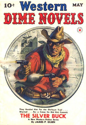 022 Western Dime Novels May-1940 Includes Long Hair - False Alarm by E. Hoffmann Price