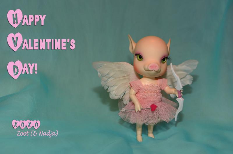 Cupid Piggie!